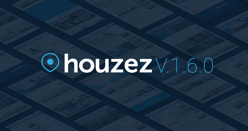 Houzez v.1.6.0 – The Latest Houzez Update is Loaded with a lot of Important New Features